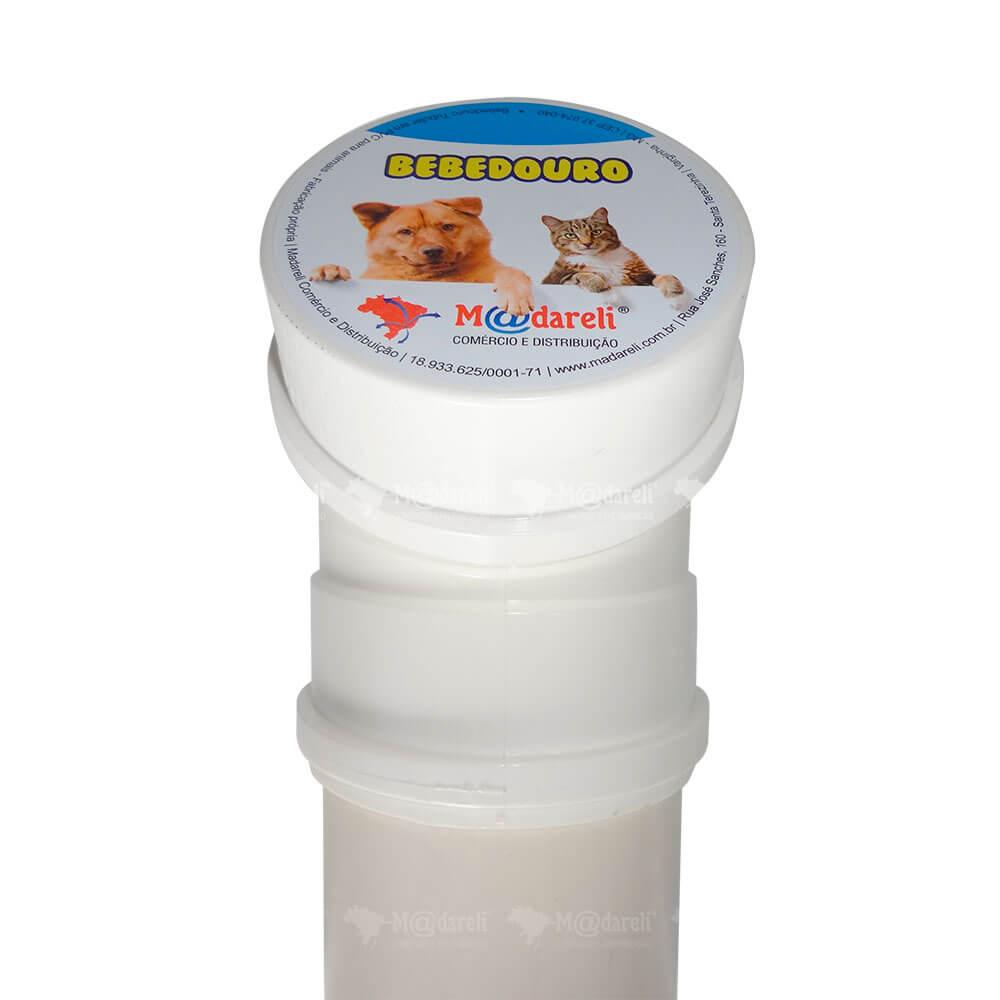 Bebedouro para Cães e Gatos em PVC 60cm 4 litros com Filtro