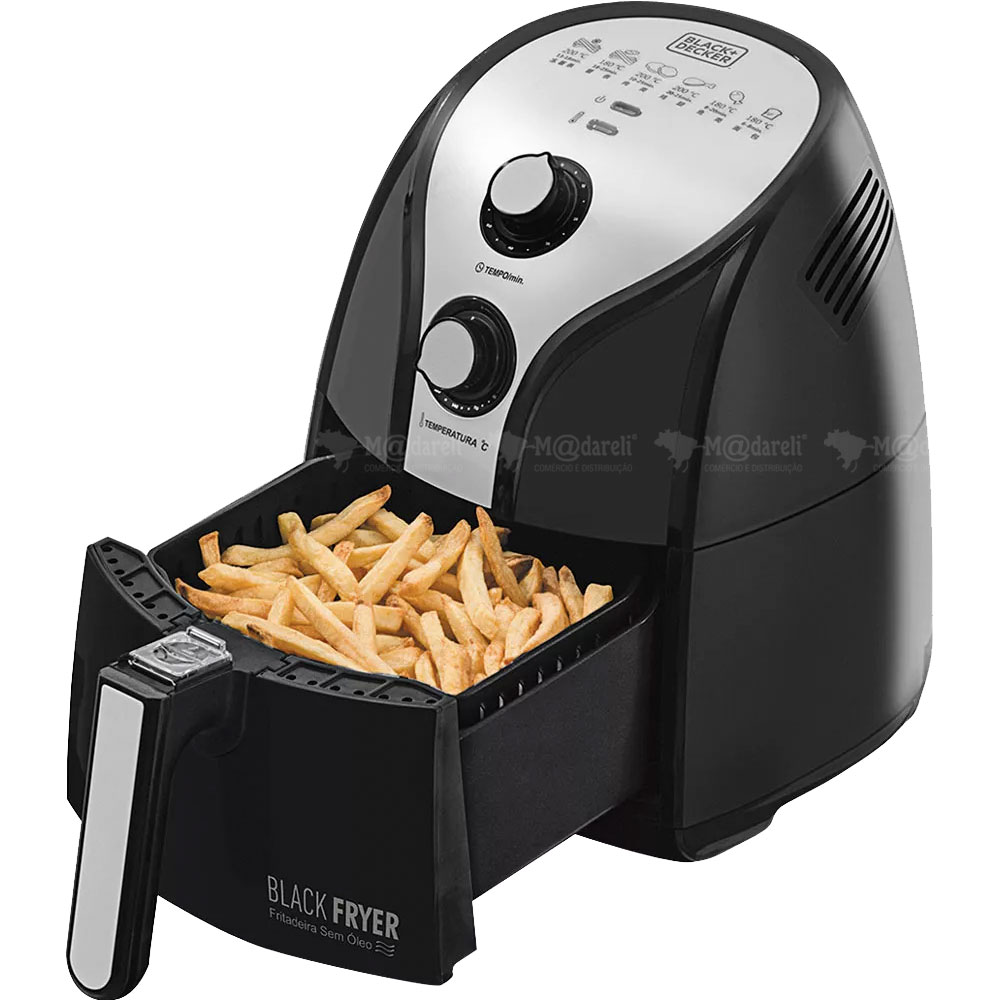 Air Fryer Fritadeira Blackfryer sem Óleo Black & Decker