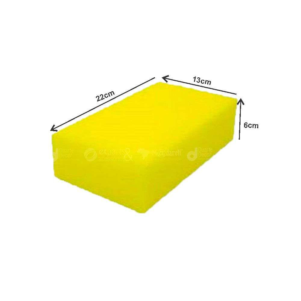 Bloco de Espuma Filtro para Reboco Multiuso 13x22x6 - Roma