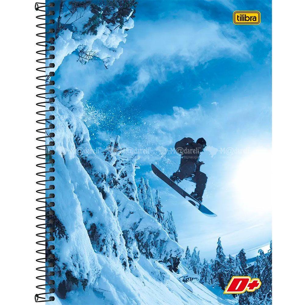 Caderno Espiral Capa Dura Universitário  200x275mm 96 Folhas