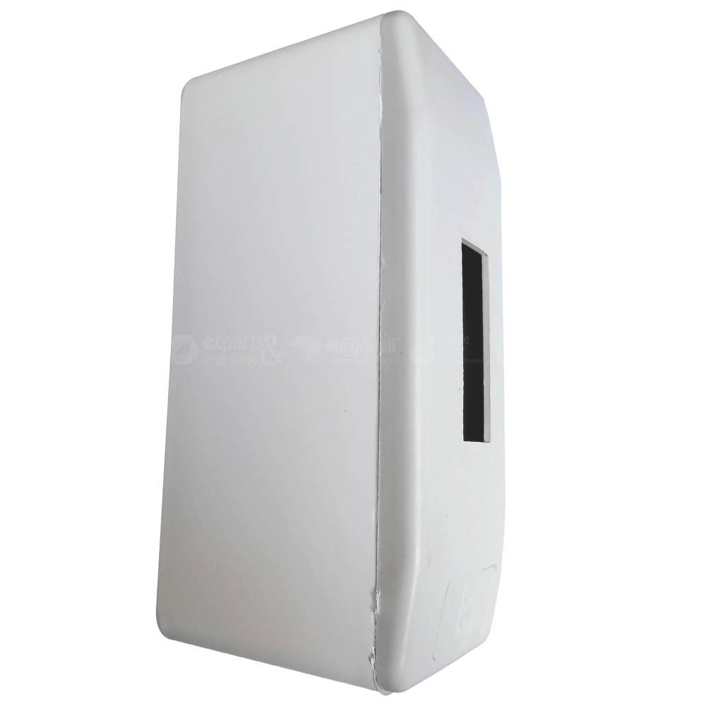 Caixa Centro para 1 Disjuntor 5,5 x 14,2 x 7 cm Branco - TAF