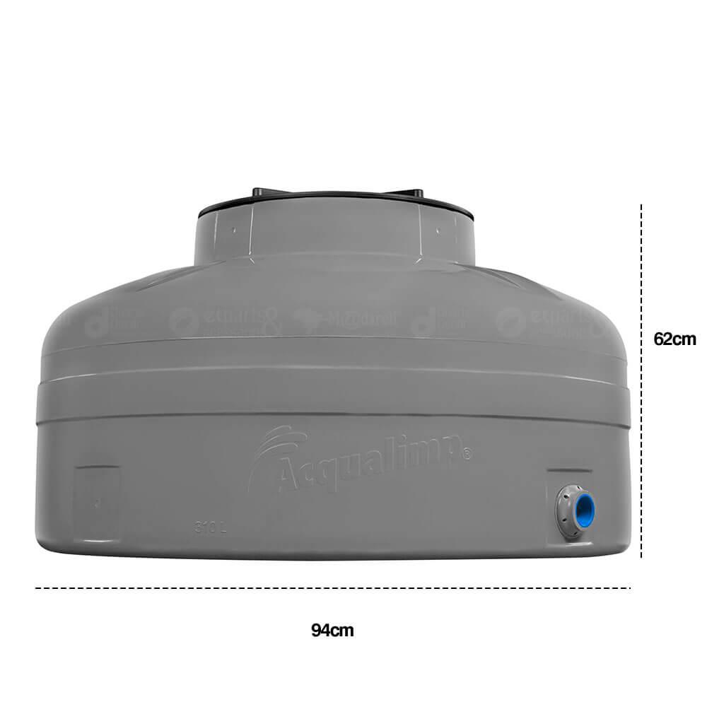 Caixa D'água Acqualimp Fácil Instalação 310, 500 e 1000L