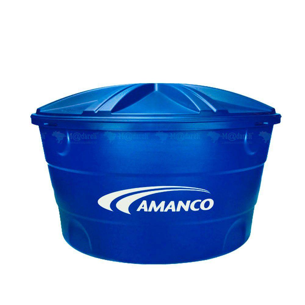 Caixa D'água com Tampa 500 Litros - Amanco