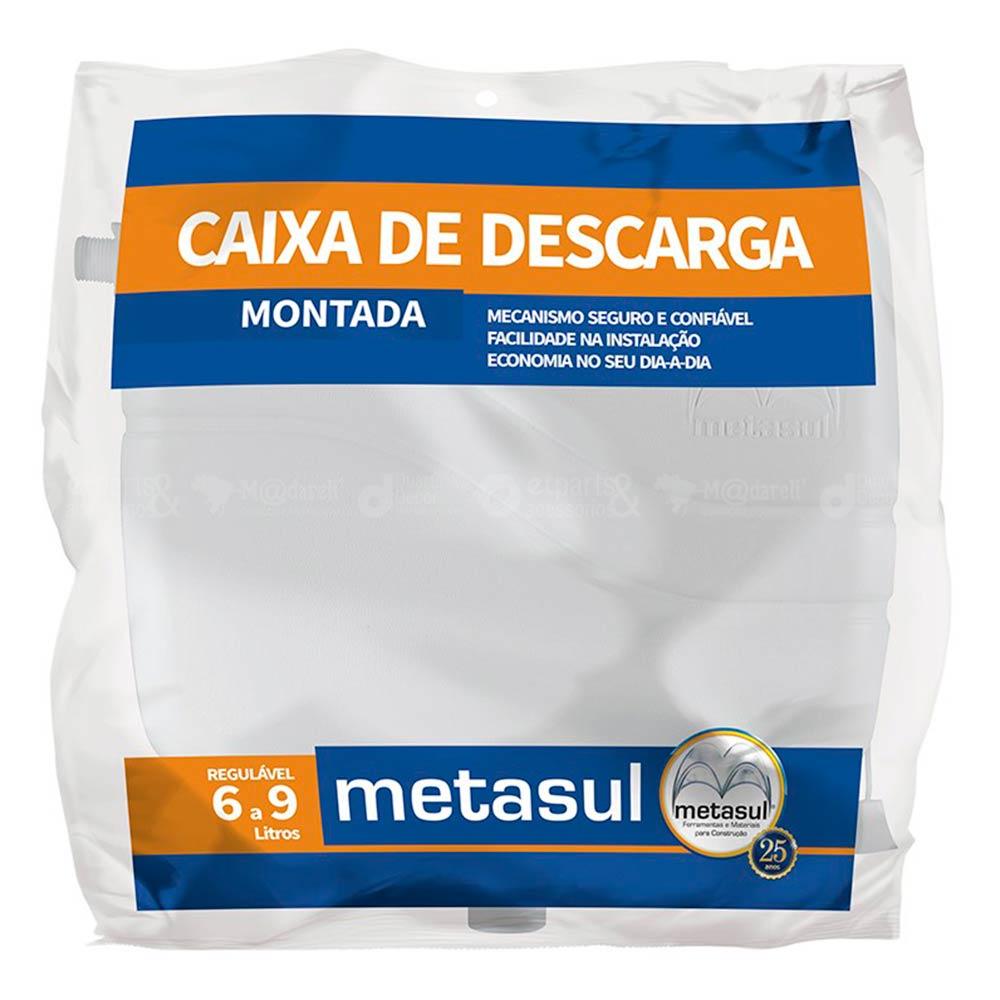 Caixa de Descarga 6 a 9 Litros - Metasul