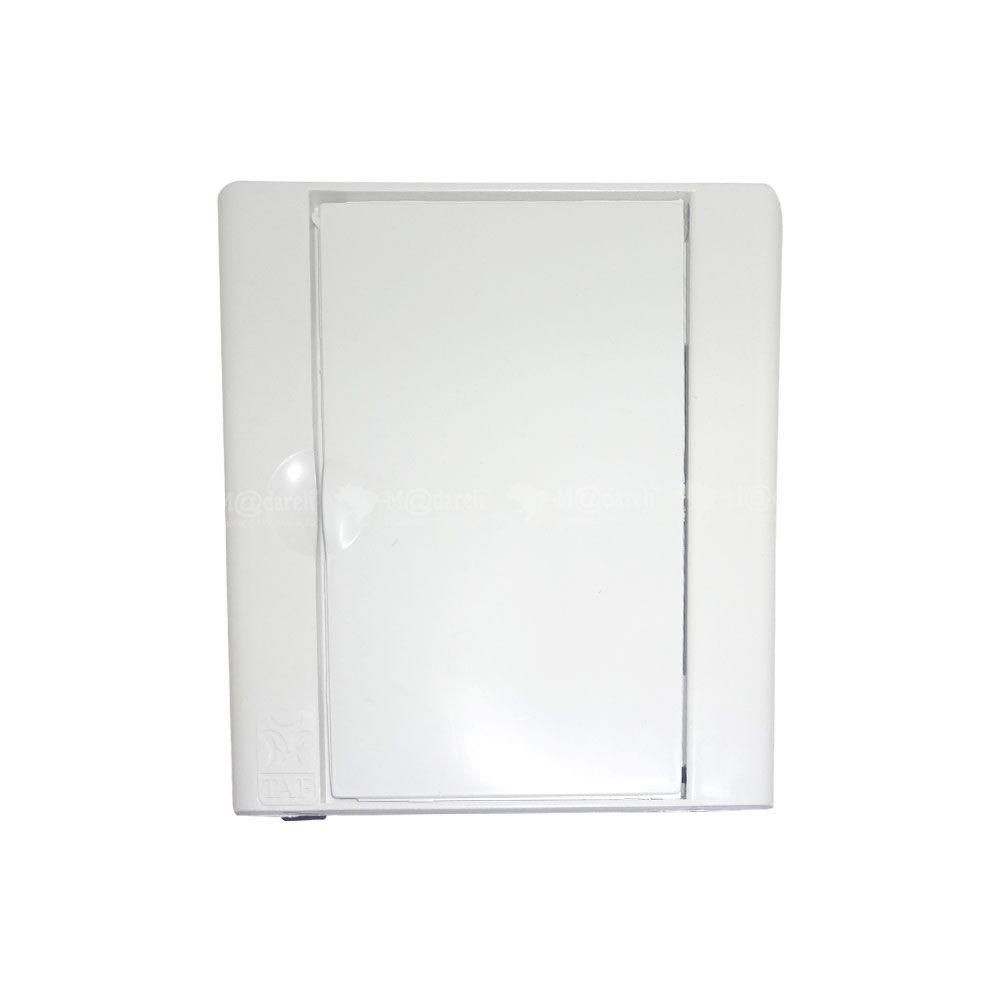 Caixa ou Centro de Distribuição 3/4 Disjuntores 16,5 x 17 x 9 cm - TAF