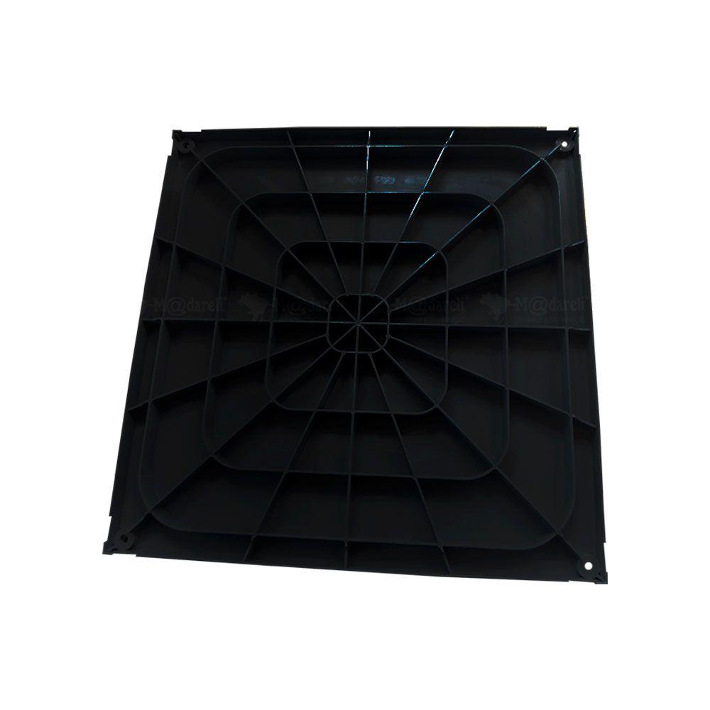 Caixa de Gordura 42 Litros com Cesto de Limpeza 41x41x41cm