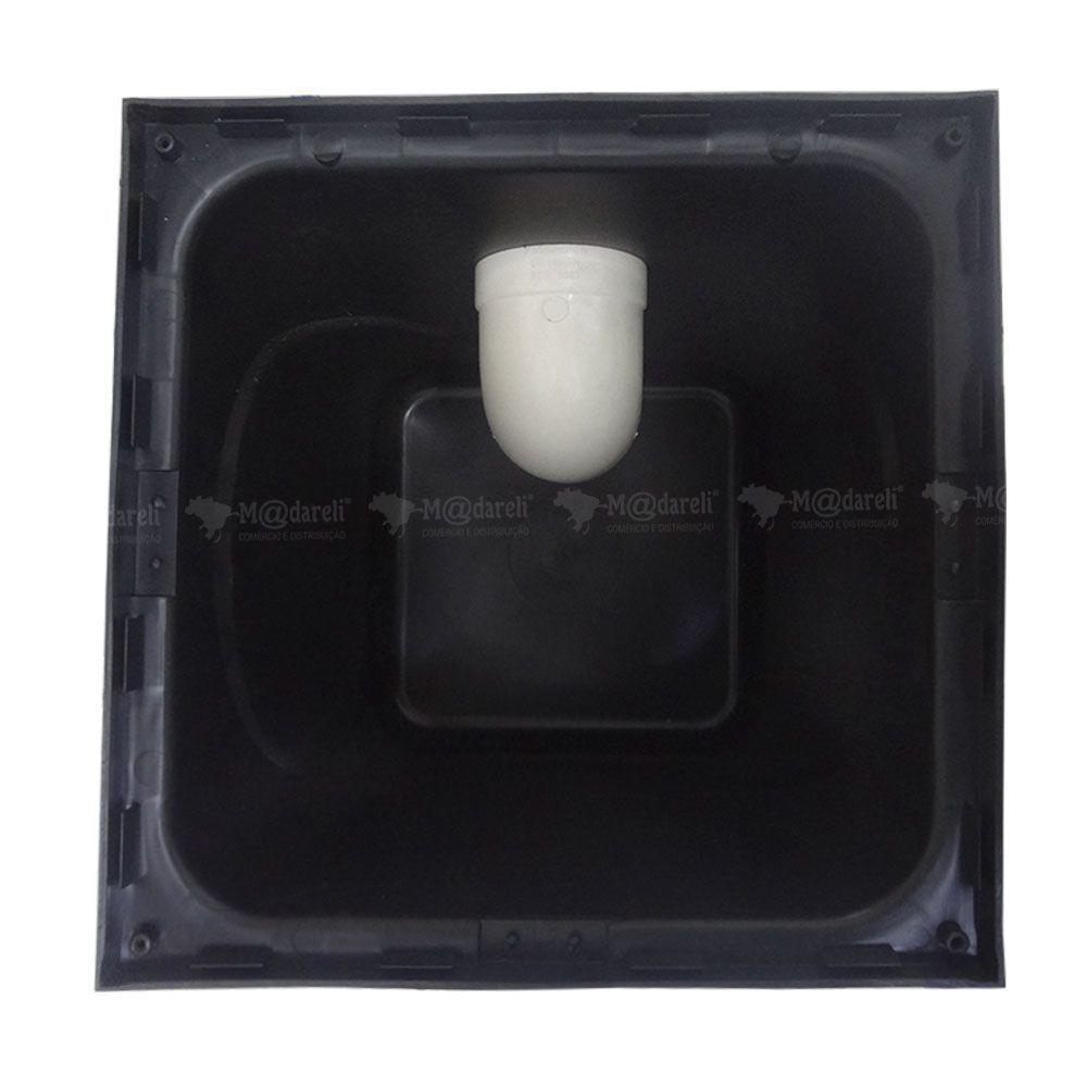 Caixa de Gordura 42 Litros com Cesto de Limpeza + Prolongador