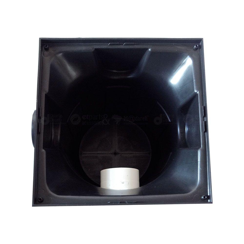 Caixa de Gordura Premium Com Cesto 410x410x480mm - Metasul