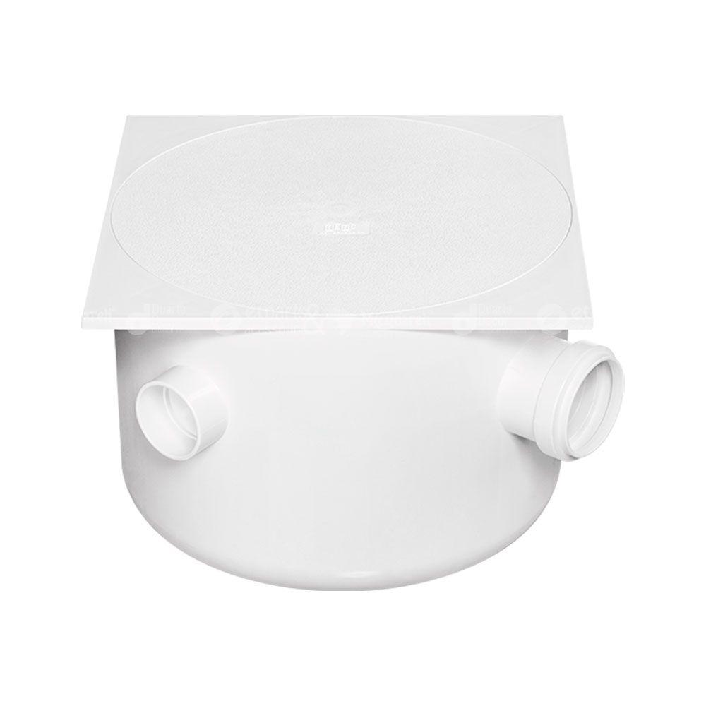 Caixa de Gordura Sifonada Tampa Quadrada 250 x 172 x 50 - Herc
