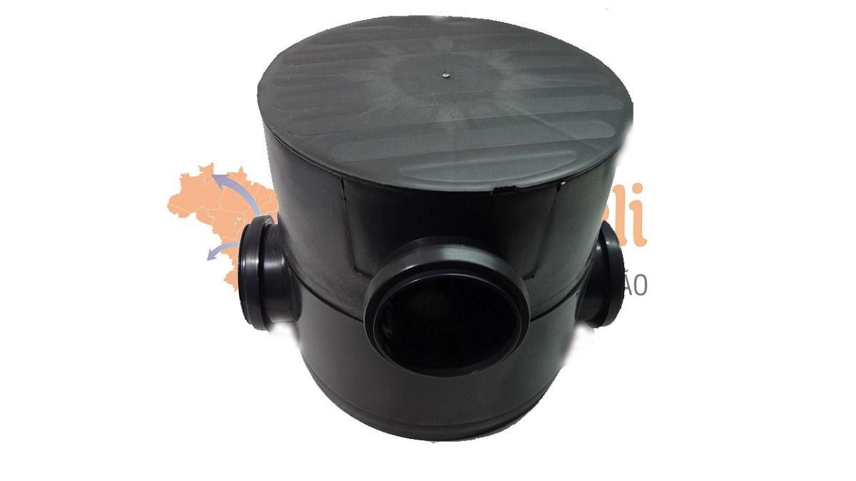 Caixa de Gordura Sifonada 32 Lts + Caixa de Passagem Redonda - Madareli
