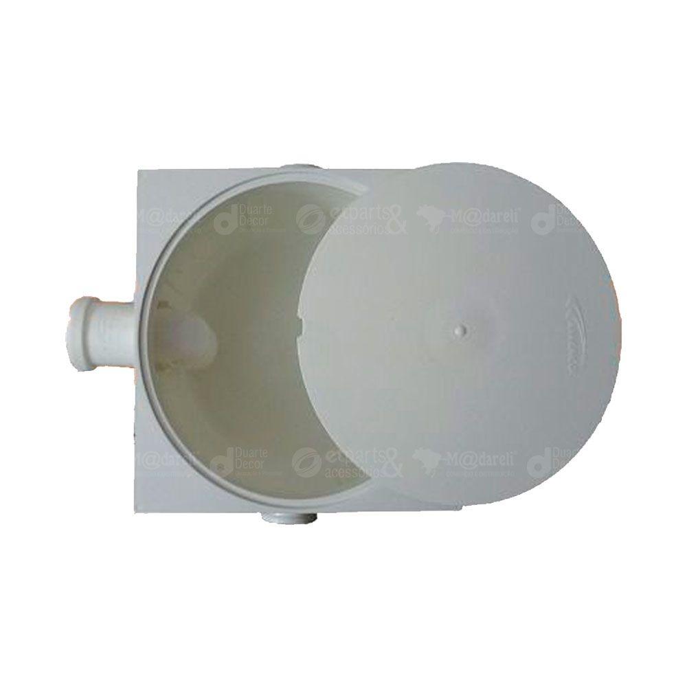 Caixa de Gordura Sifonada Tampa Quadrada 250x172x50 - Amanco