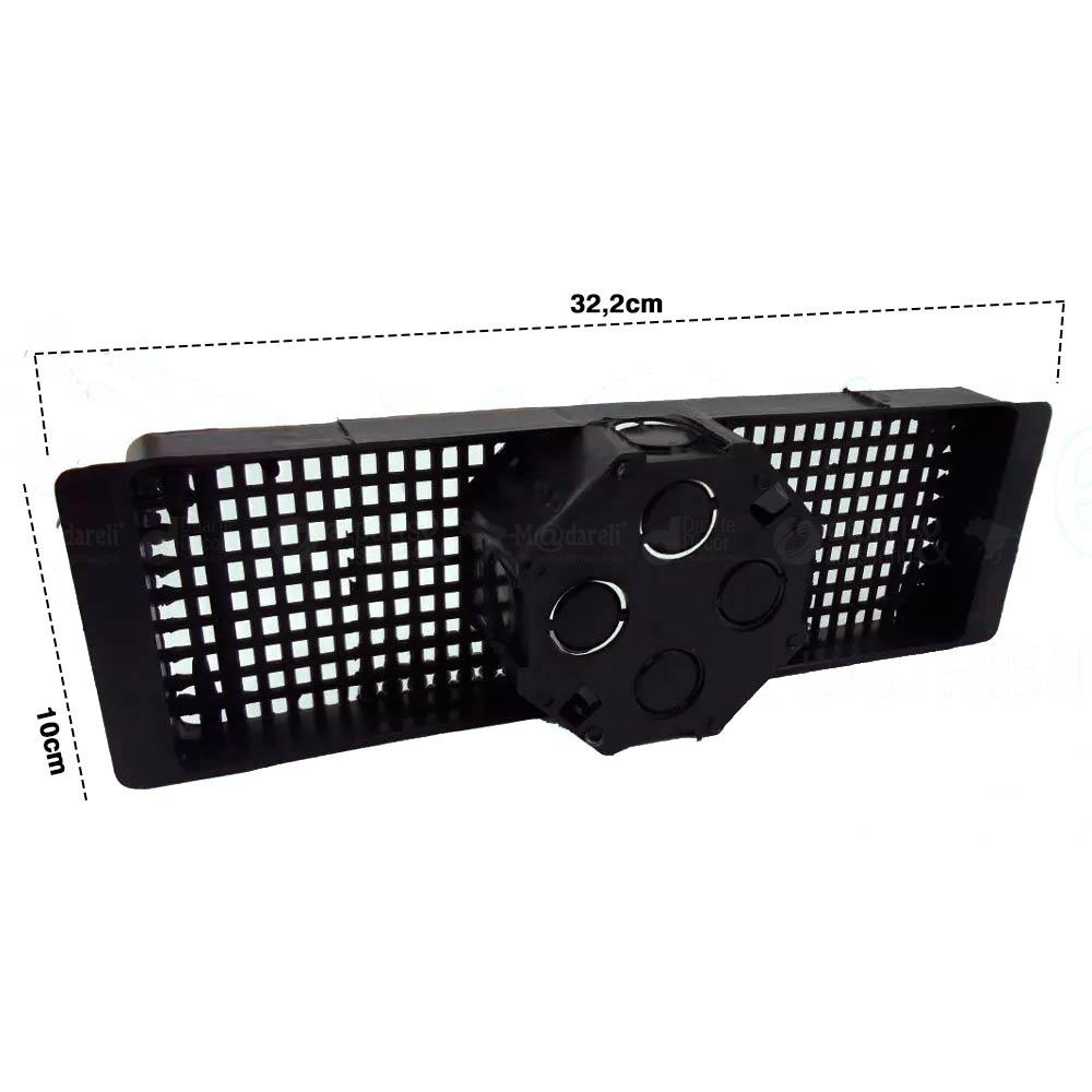 Caixa de Luz Octogonal com Suporte para Laje 30cm (12 Unid)