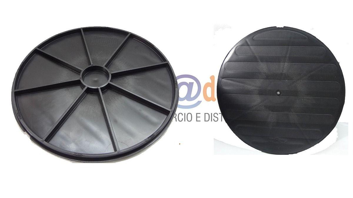 Caixa de Passagem e Inspeção Esgoto - DN100 - 340x300x340mm