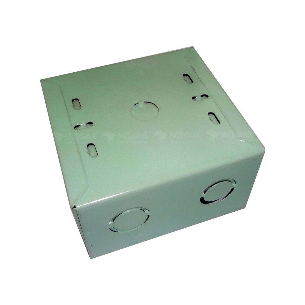 Caixa de Passagem Plasmar - Metal 10 cm x 10 cm
