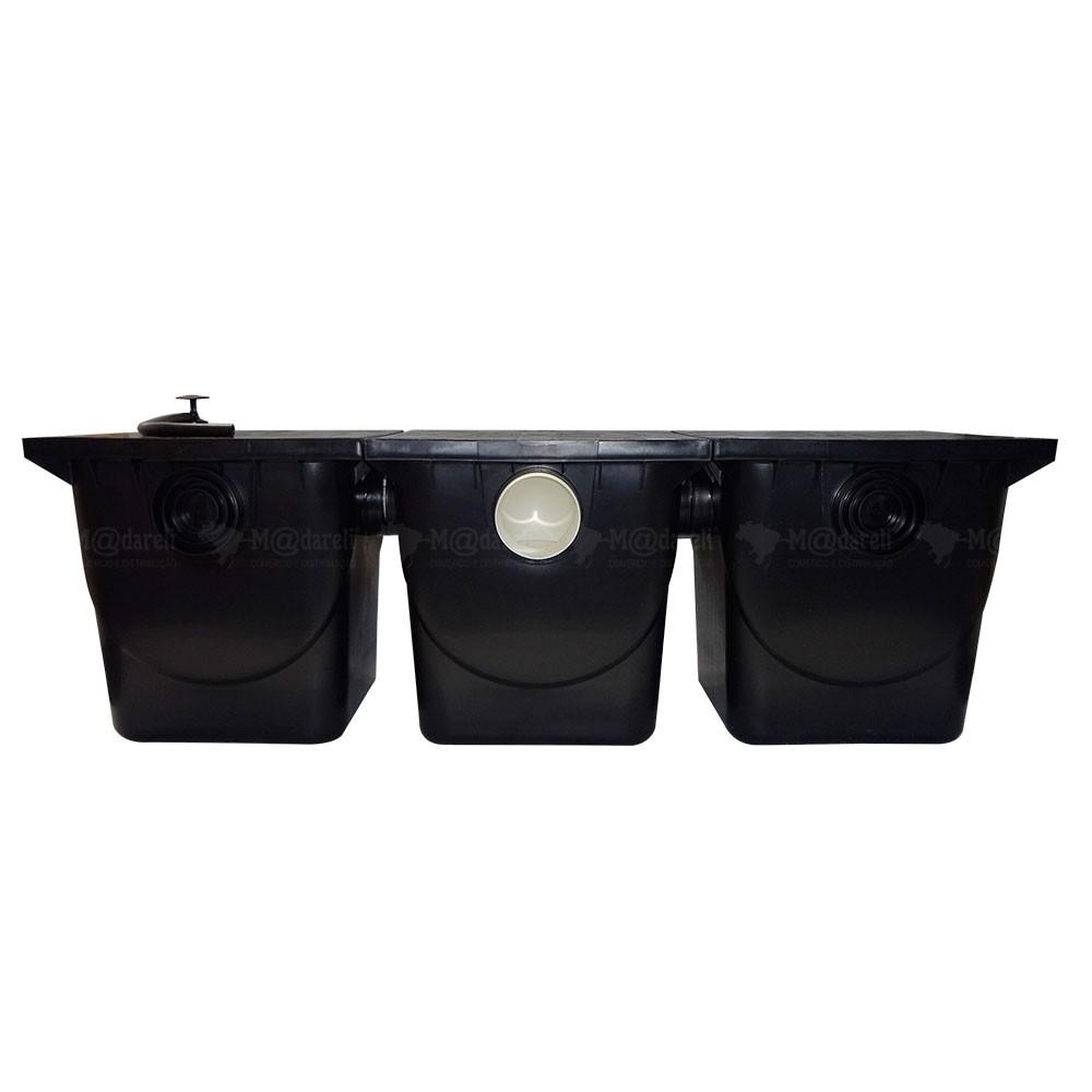 Caixa Separadora de Água e Óleo 1000 L/h Completa + laudos Madareli