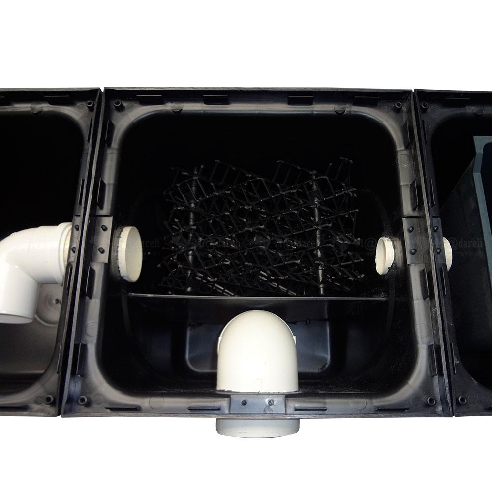 Caixa Separadora Água Óleo 1000L/h Completa + laudos Madareli