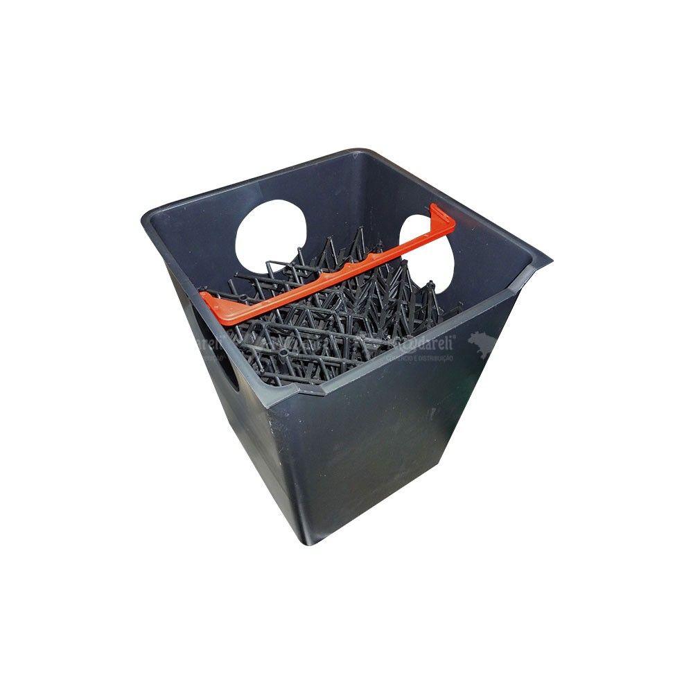 Caixa Separadora Água Óleo 1200L/h com Placas Coalescentes + Bomba de Sucção
