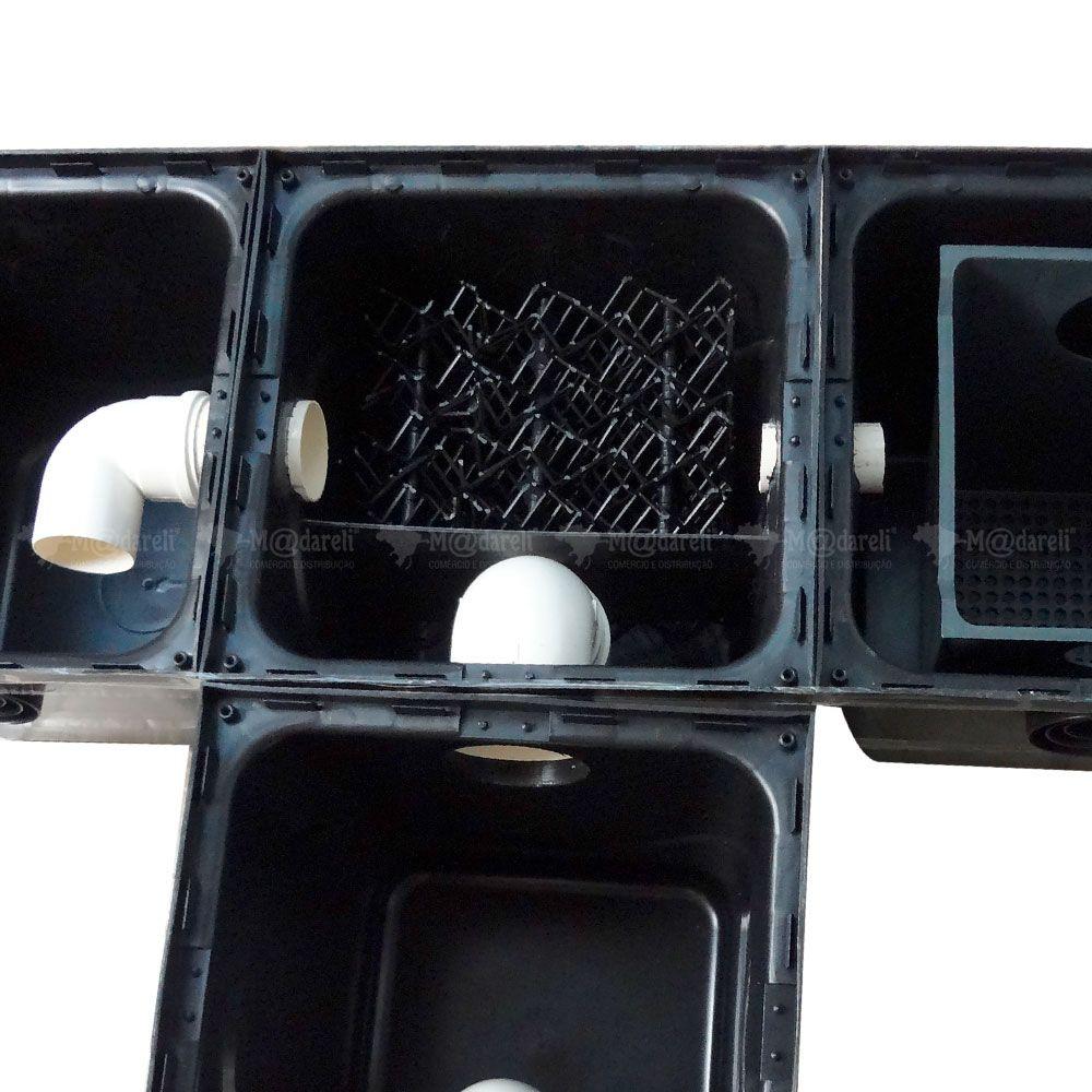 Caixa Separadora Água Óleo 1000L/h Completa + Caixa Inspeção