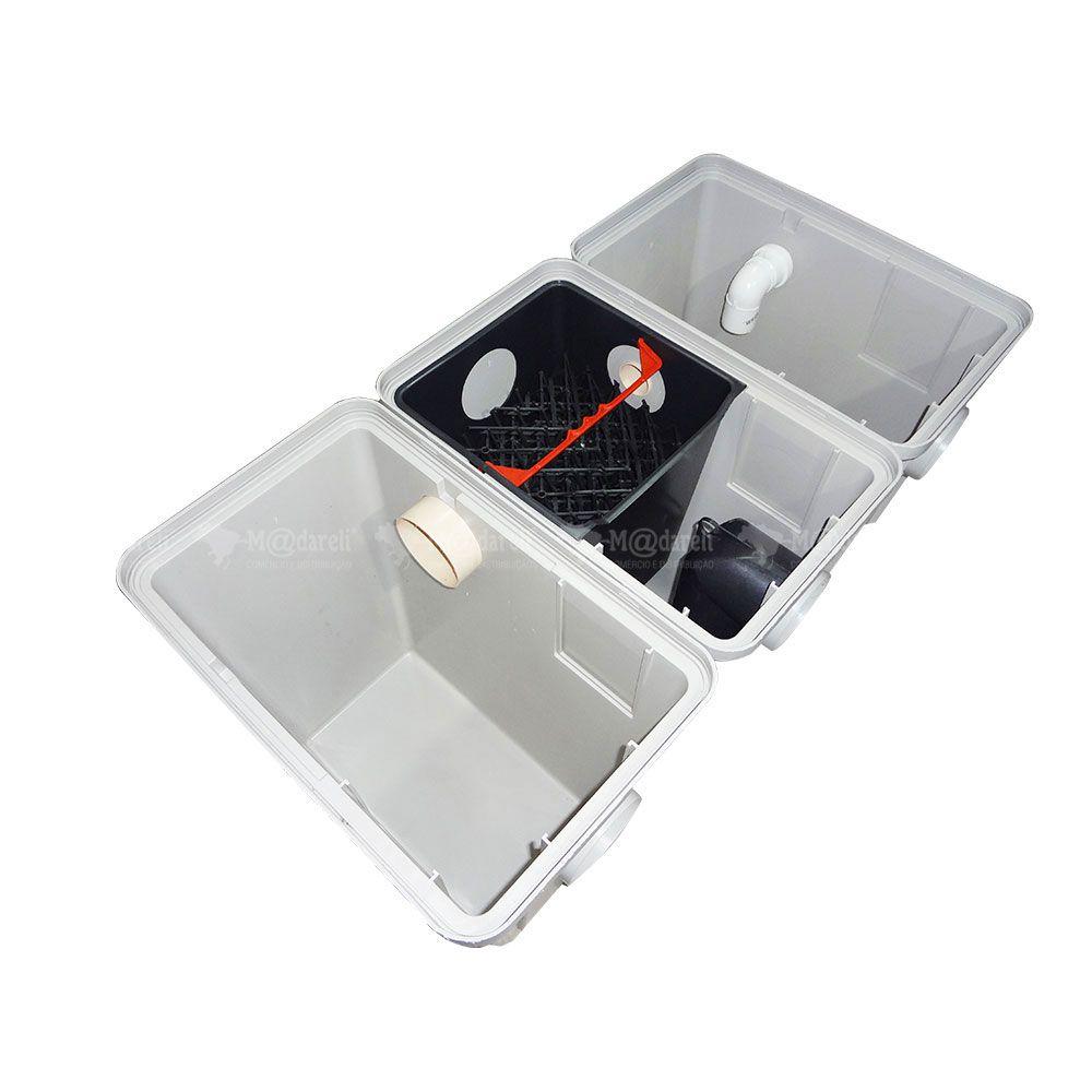 Separador de Água e Óleo 1200L/h SAO Placas Coalescentes + Bomba de Sucção para Lava Rápido, Oficinas