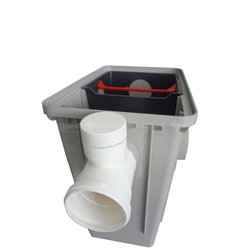 Caixa Separadora de Folhas Areia para Água de Chuva Madareli