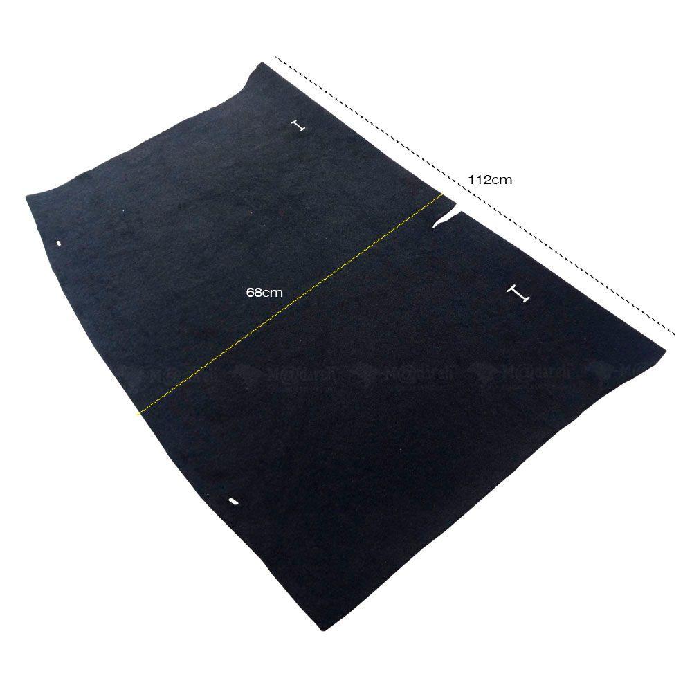 Carpete para Porta Malas Hyundai H20 2012 A 2017 Preto