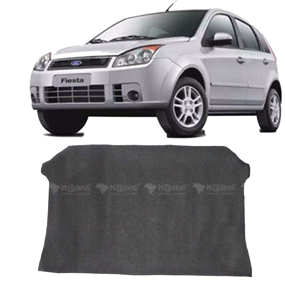 Carpete Porta Malas Fiesta Hatch - 2005