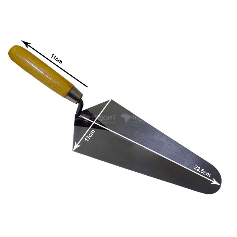 Colher de Pedreiro Canto Reto 22,5x11cm22,5x11cm Nº 09 - Thompson