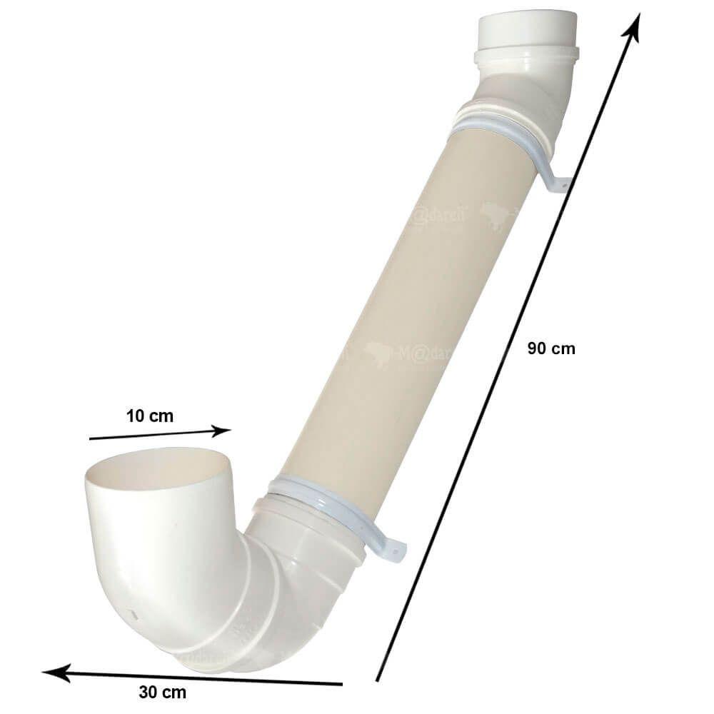 Comedouro e Bebedouro para Cães e Gatos PVC 90 cm - Madareli
