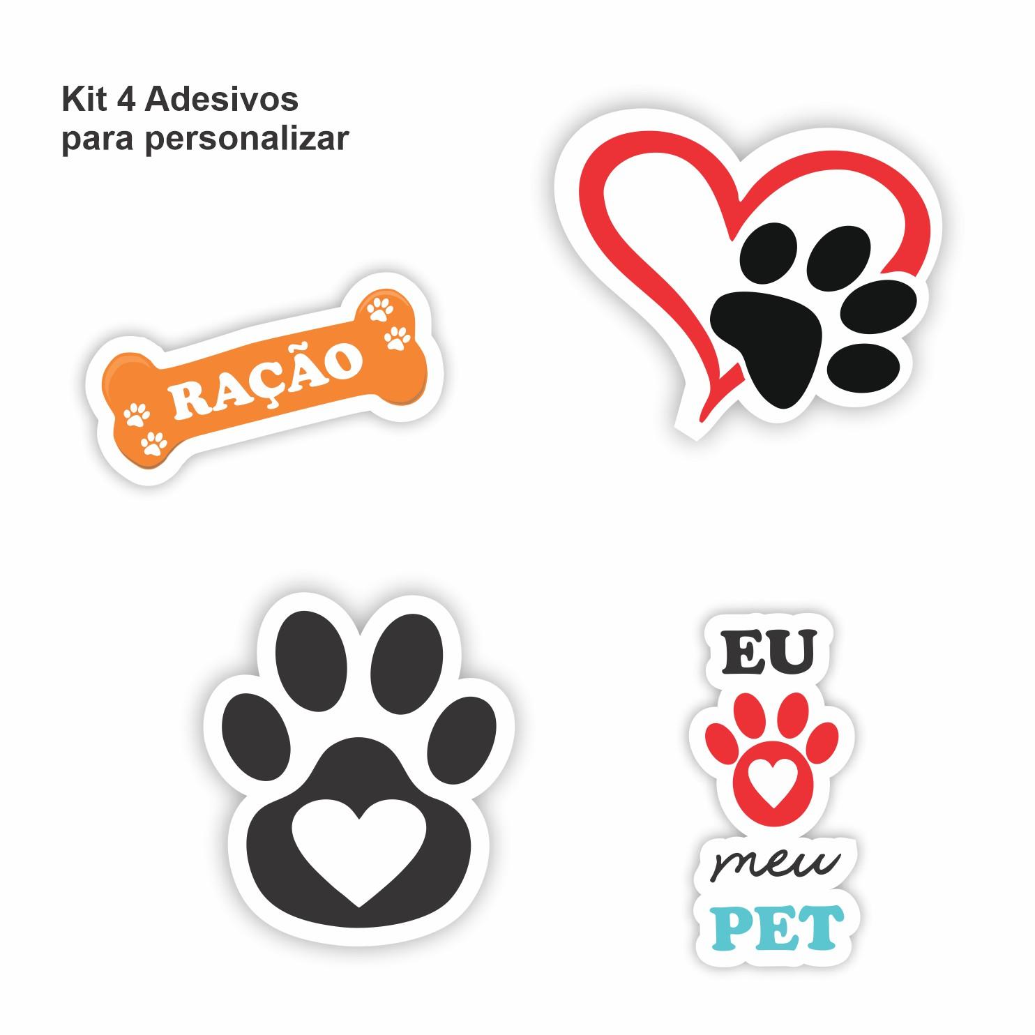 Comedouro para Cães e Gatos 5 Kg - PVC 90cm - Madareli
