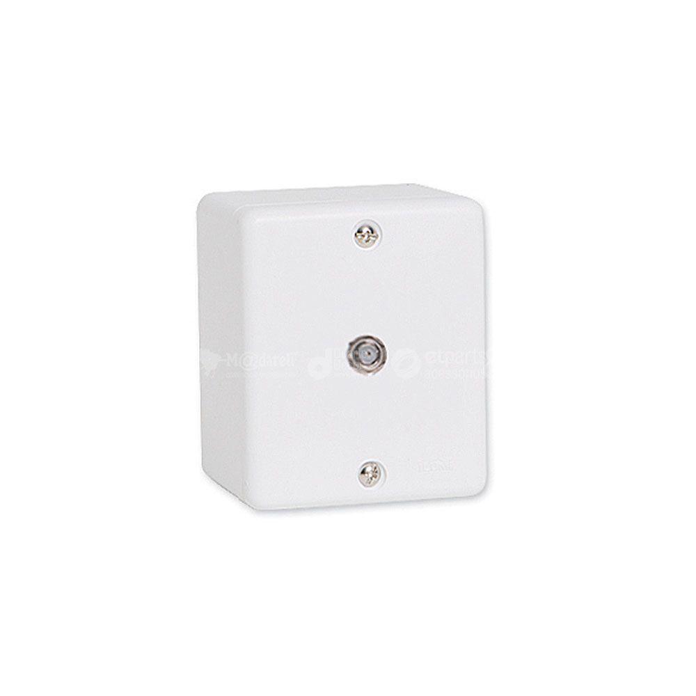 Conjunto Conector para Antena de Tv Sobrepor Sistema X - Ilumi
