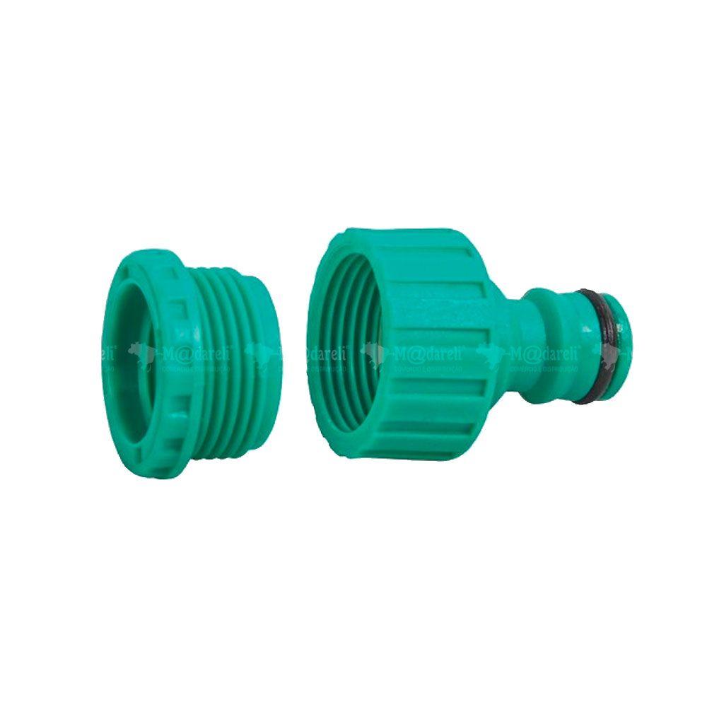 """Conector Macho de plástico para Engate Rápido 1/2"""" - Tramontina"""