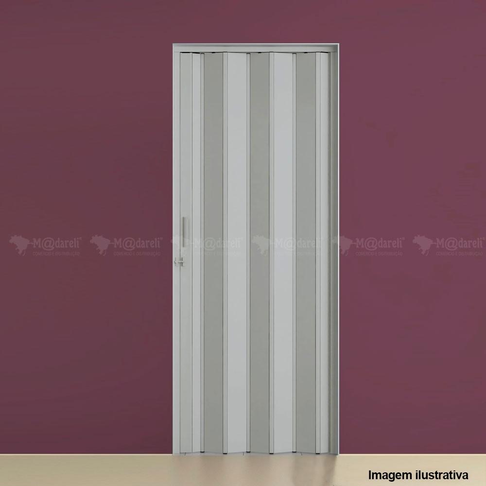 Porta Sanfonada PVC 210 x 84 cm - Plasflex