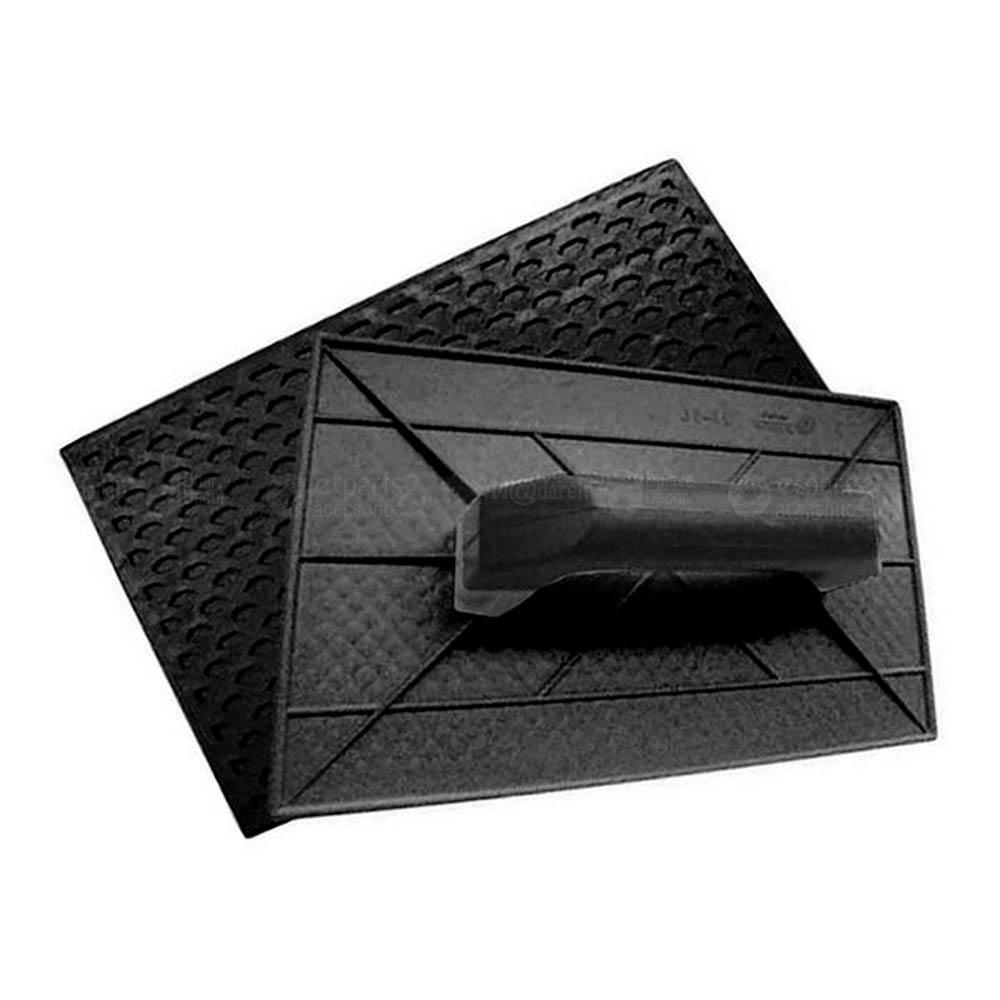 Desempenadeira Plástica Corrugada 22 x 34cm - Castor