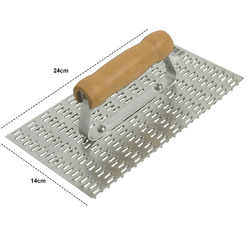 Desempenadeira Raspadeira de Aço 14 x 24cm - Cortag