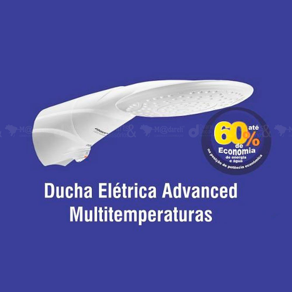 Ducha Elétrica Advanced Multitemperaturas 127v / 5500w
