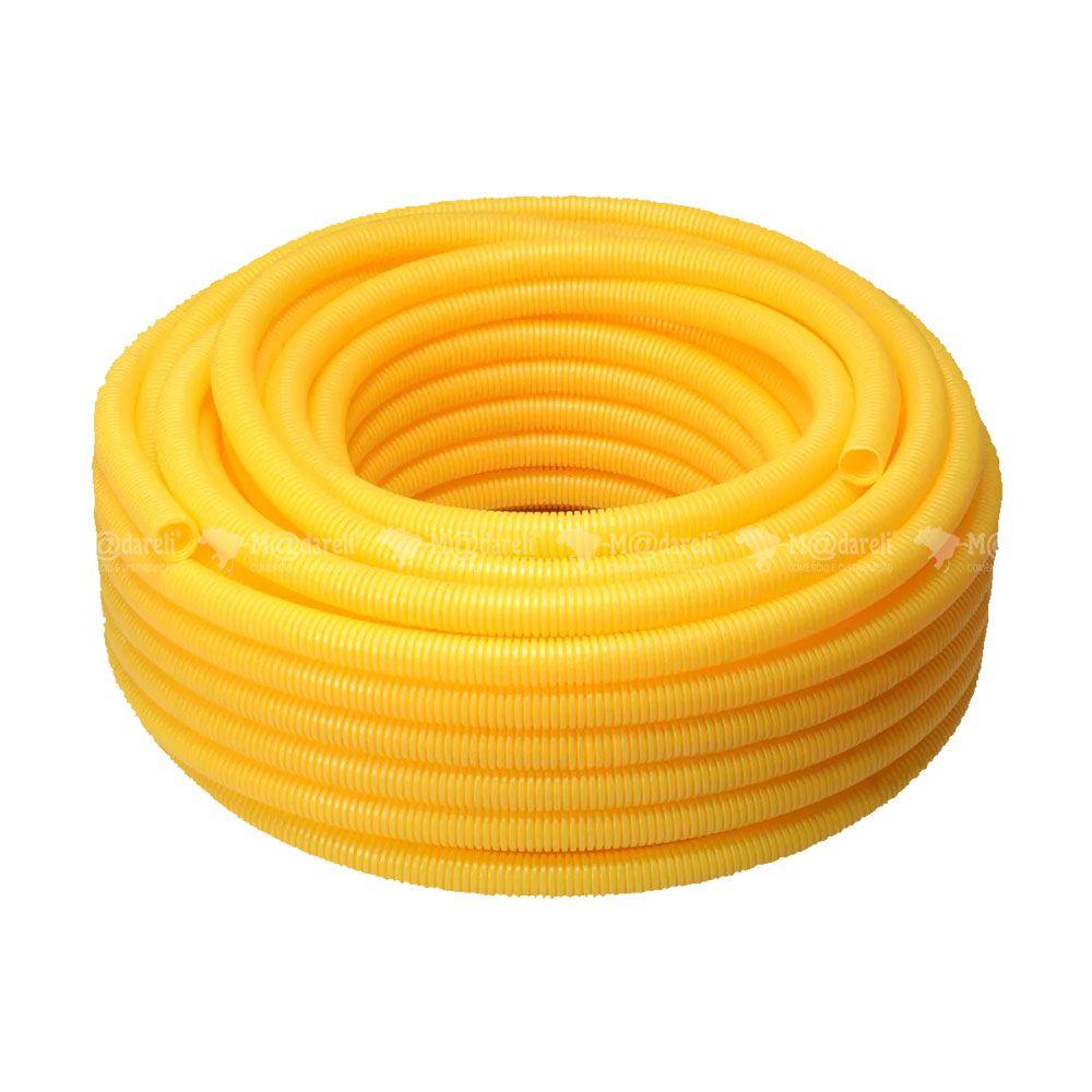 Eletroduto de PVC Flexível Tubo Corrugado - Krona