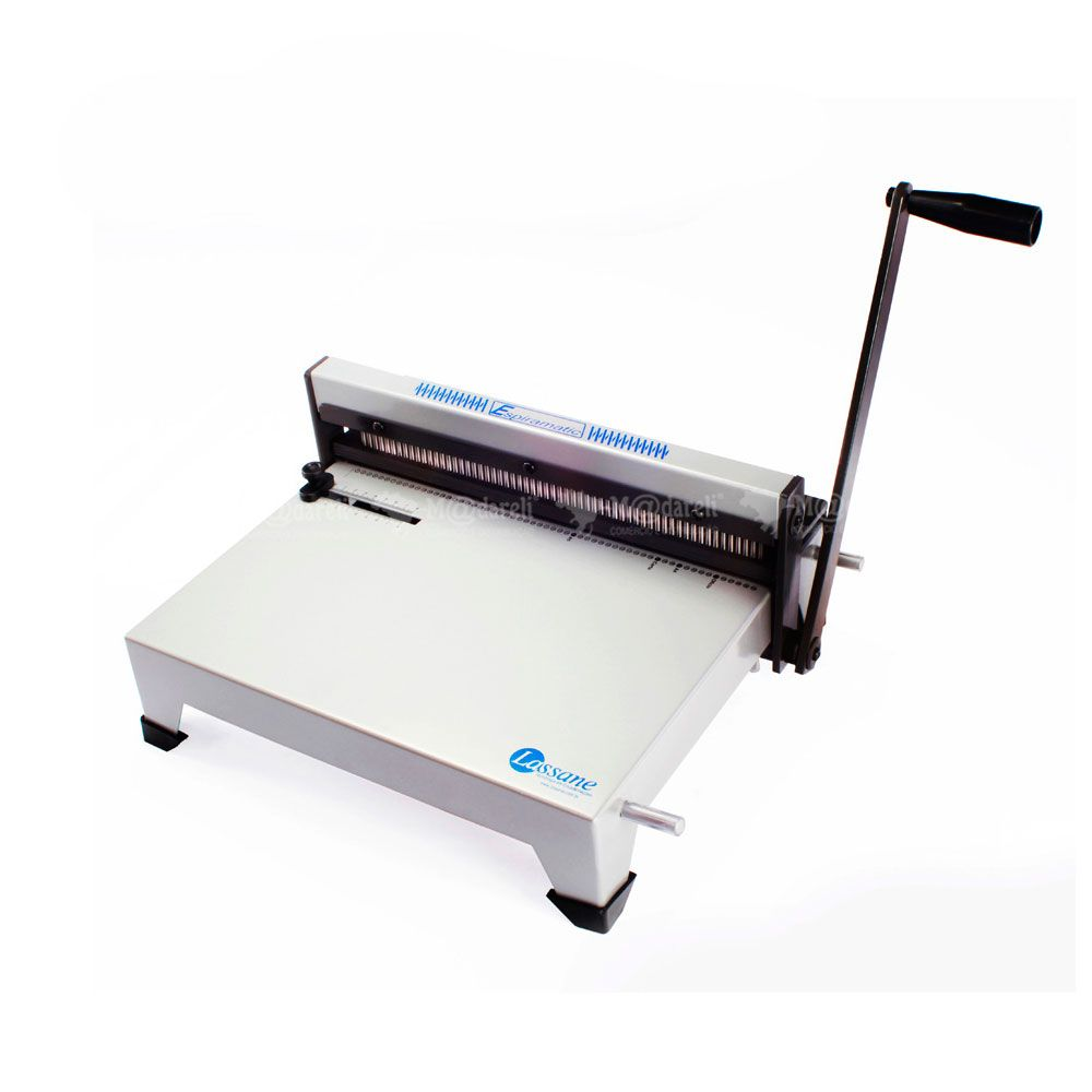 Encadernadora Perfuradora Manual Espiramatic Para 15 Folhas Ofício - Lassanne