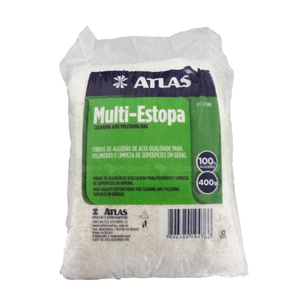 Estopa Multi Uso 400 Gramas - Atlas