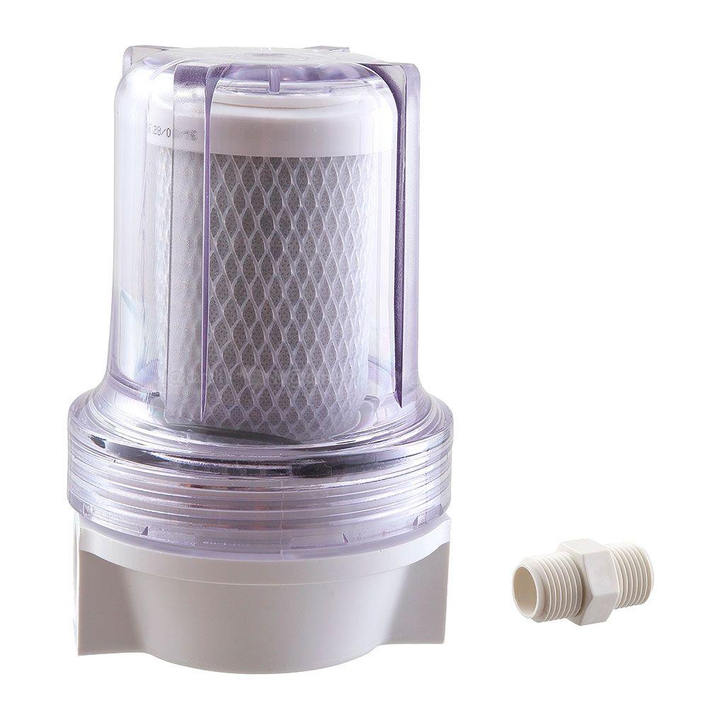 Filtro de Água Transparente para Chuveiro e Ducha Shower 125