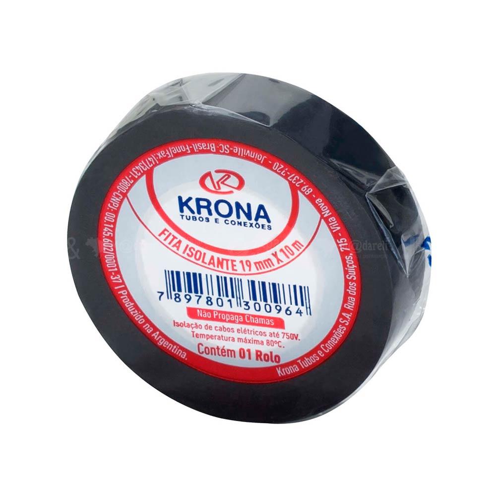Fita Isolante Antichama 19mm x 10m - Krona