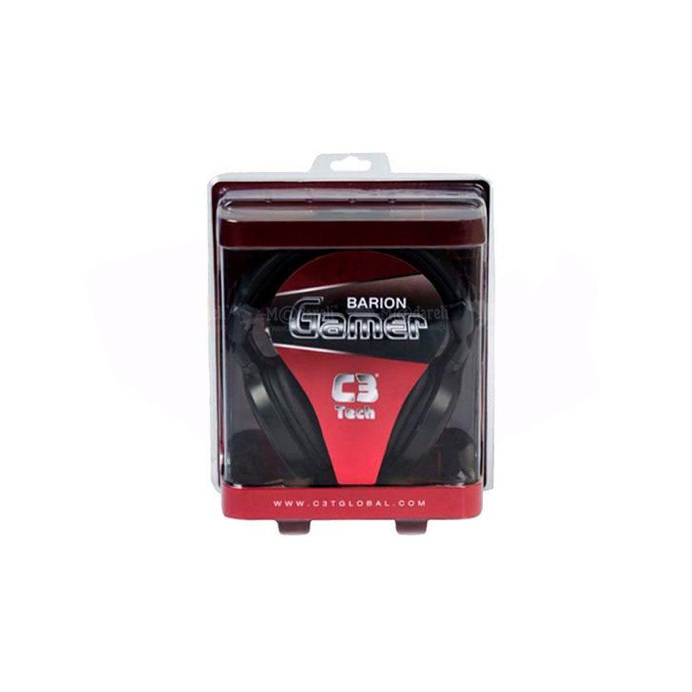 Fone Headset Barion Gamer C3 Tech Com Microfone