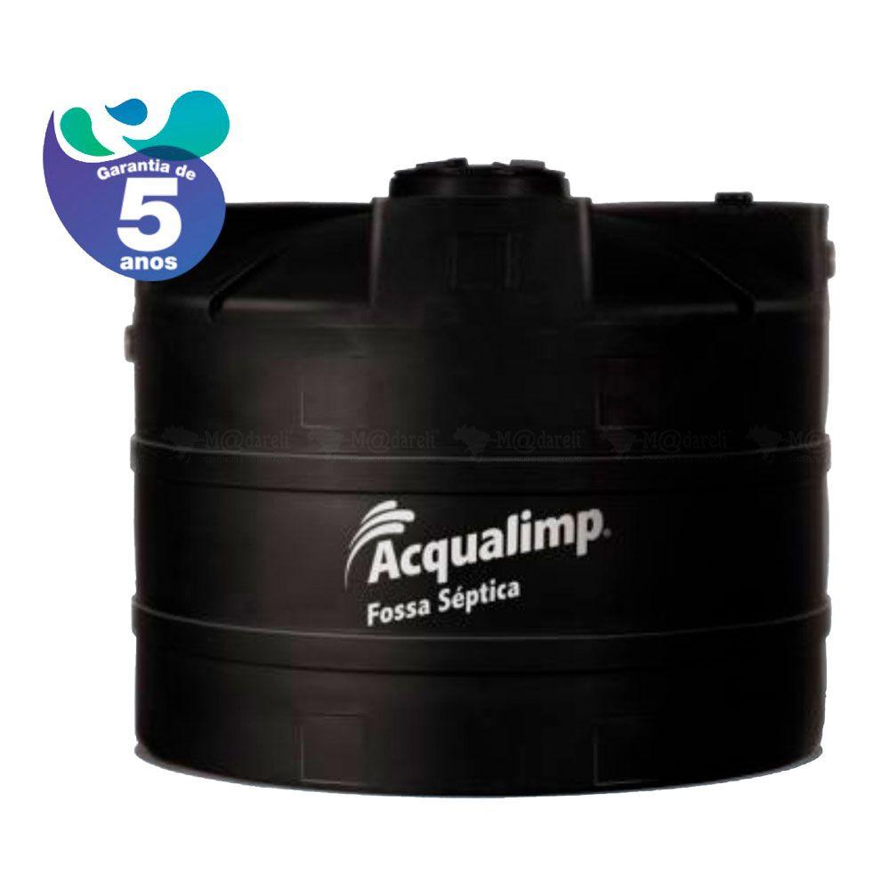Fossa Séptica Acqualimp 10.000 litros + Filtro Anaeróbio