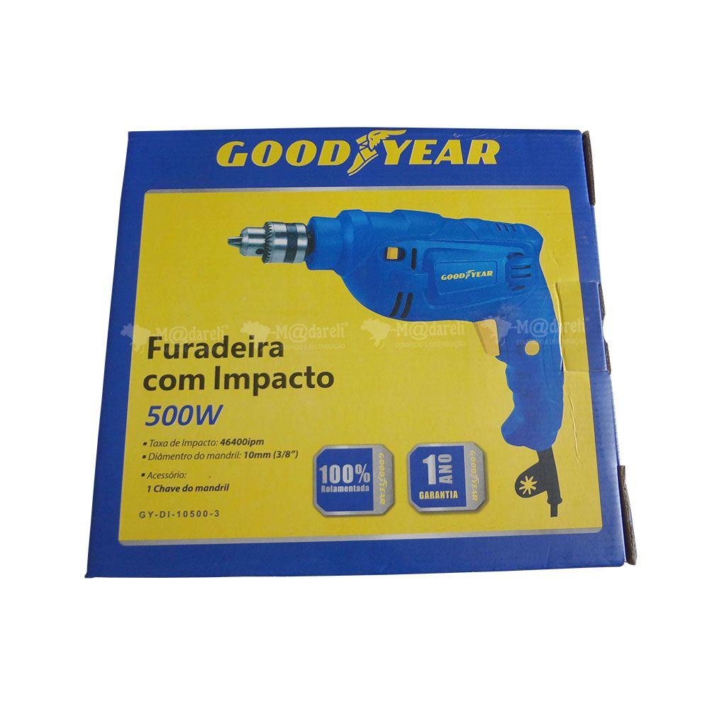 Furadeira de Impacto Good Year - 500W 127V DI-10500-3