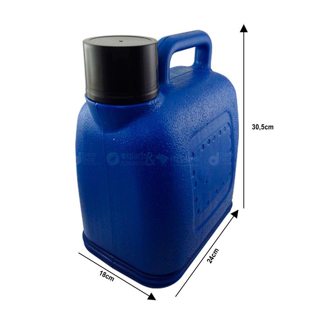 Garrafa garrafão Térmico 5 Litros - Global Sol