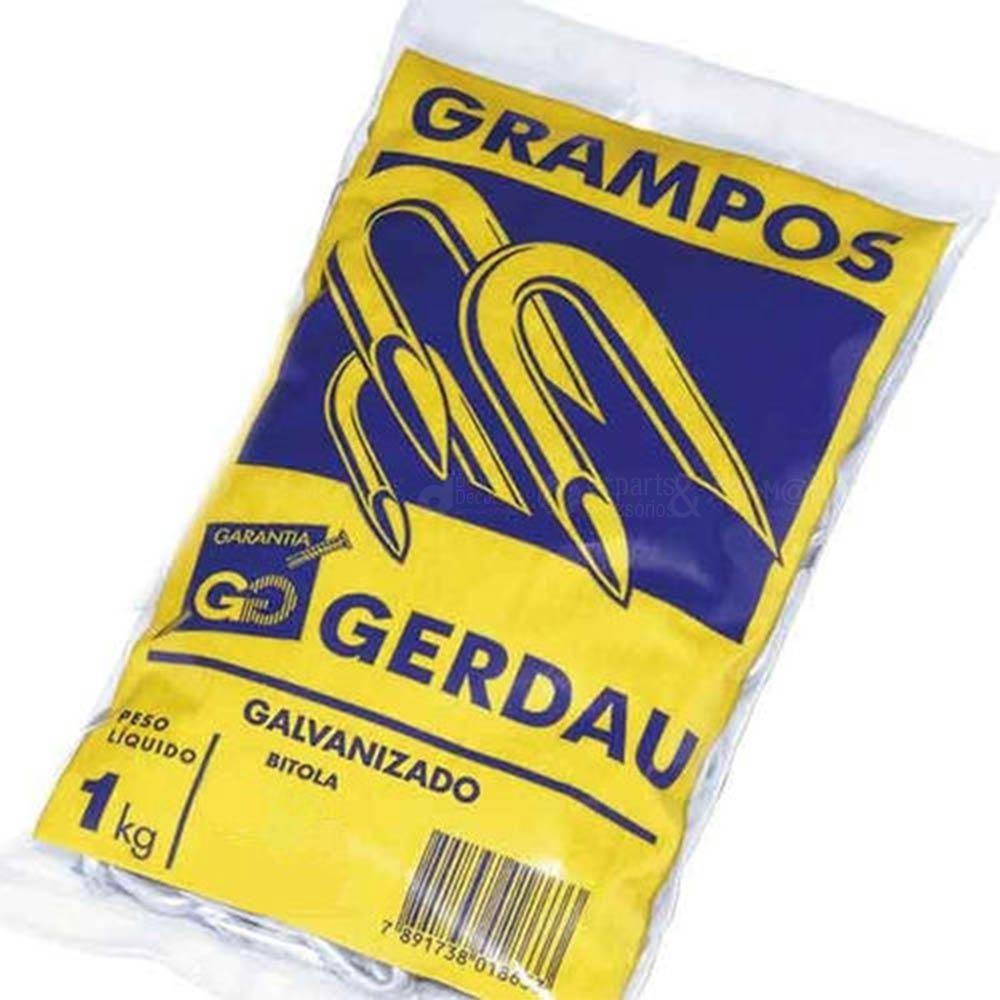 Grampo Polido para Cerca 19x11 - 1x9 1kg - Gerdau
