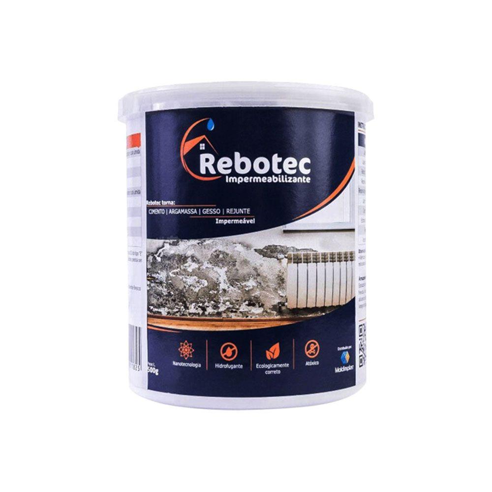 Impermeabilizante Rebotec  Hidrofugante Nanotecnológico - 500G