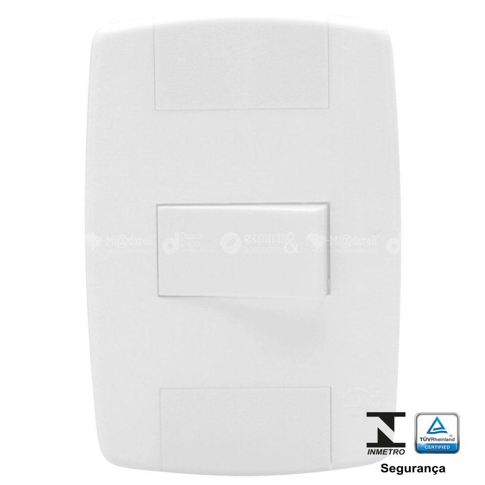 Interruptor Simples 10A Modular Ilumi Lev