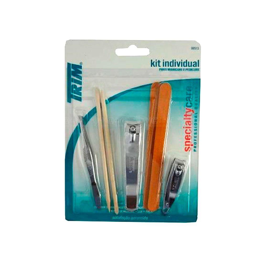 Kit Individual para Manicure e Pedicure - Trim