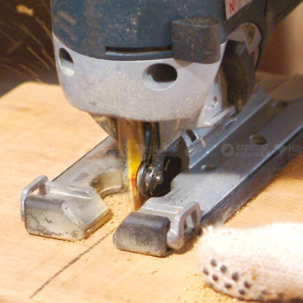 Lâmina de  Serra Tico-tico para Metal BU224 c/ 5Un - Starrett