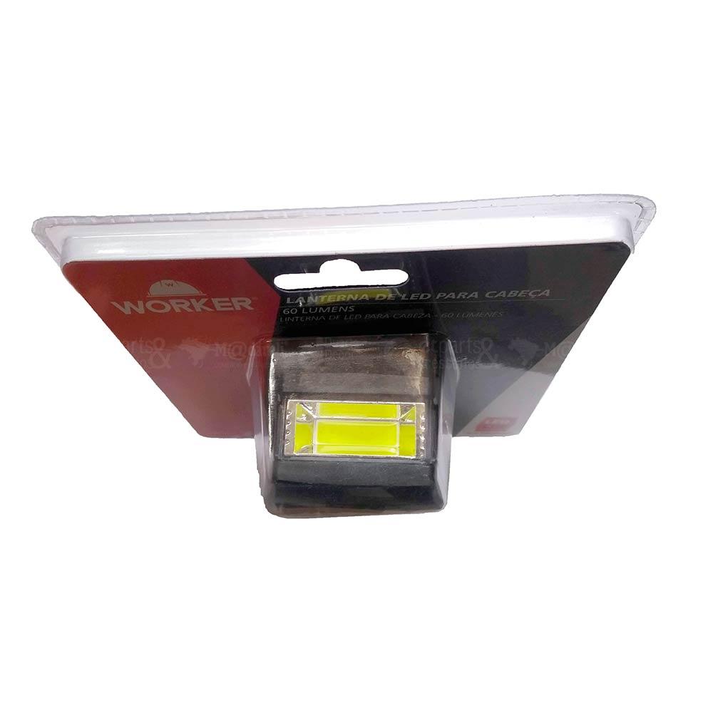 Lanterna de Led para Cabeça 60 Lumens - Worker
